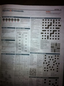 Brain teaser Cracking the Safe is quite popular amongst newspaper readers in Australia